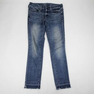 Mossimo Women's Jeans Mid Rise Straight Size 0R